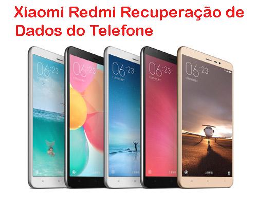 Xiaomi Redmi Recuperação de Dados do Telefone
