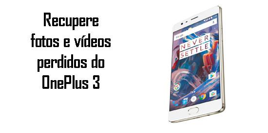 OnePlus-3-Recuperação-de-dados