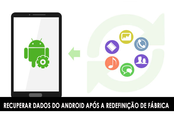 Como recuperar dados perdidos após a redefinição de fábrica no Android