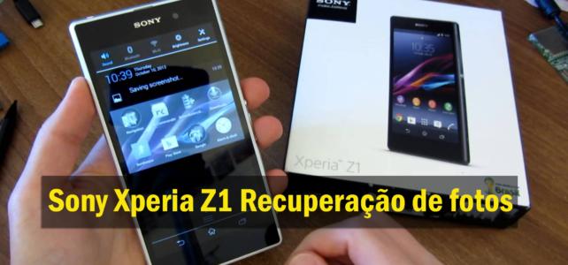 [GUIA] – Como recuperar fotos perdidas / apagadas do Sony Xperia Z1