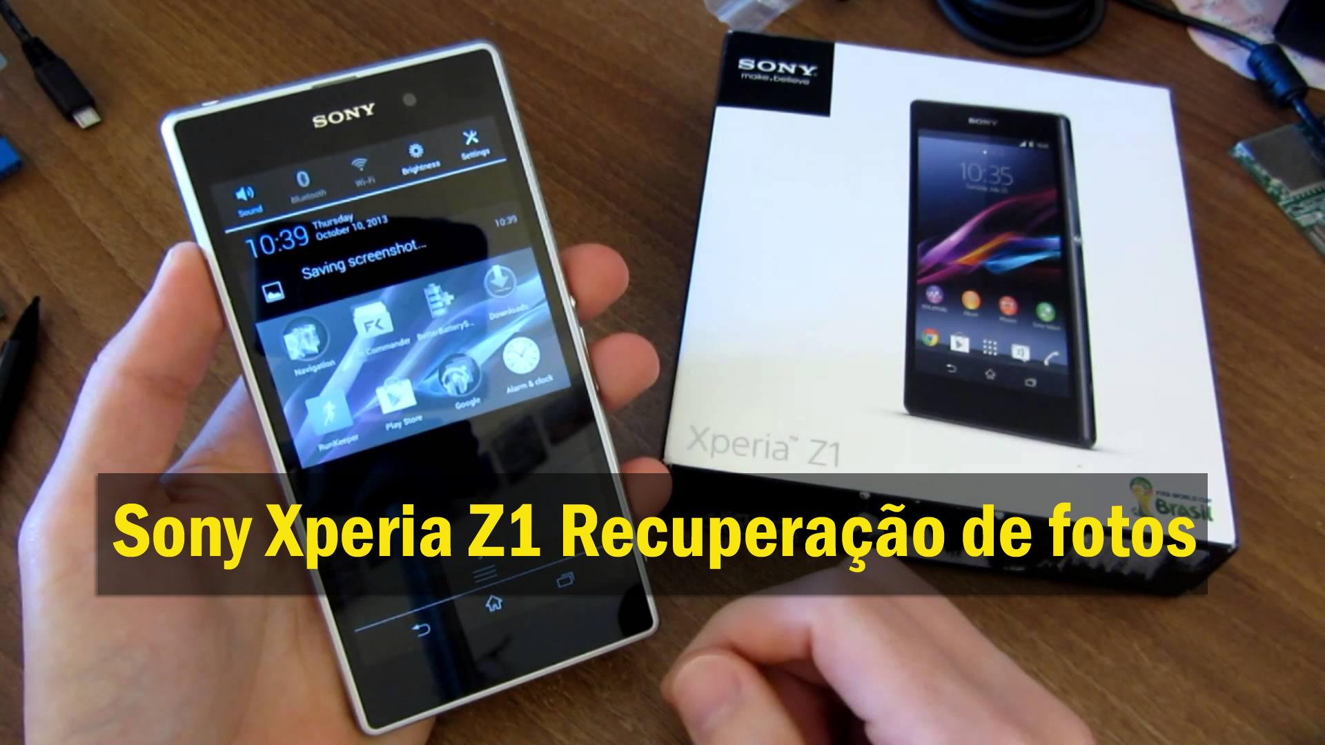 [GUIA] - Como recuperar fotos perdidas / apagadas do Sony Xperia Z1