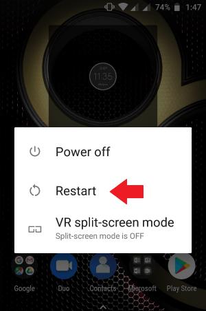 como consertar pictures e vídeos embaçados no Android