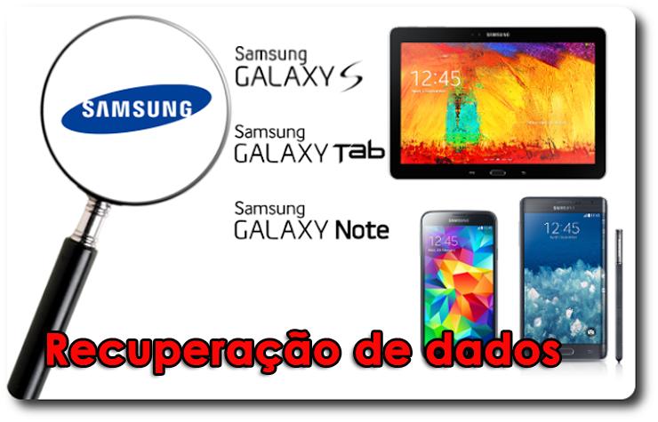 recuperar dados de Samsung depois atualizar