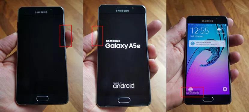 como consertar a tela roxa da Samsung