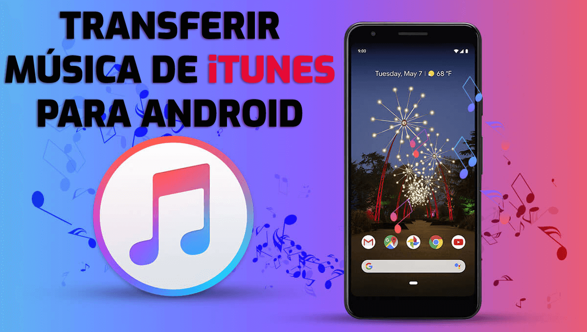 Como transferir música do iTunes para o Android