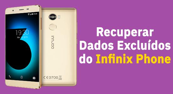Infinix Telefone Dados Recuperação