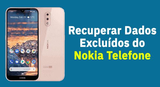 Recuperação de dados do telefone Nokia